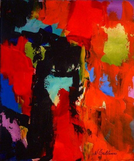 Flaming Energy by Nancy Stella Galianos