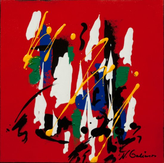 Colour Mood 2, Acrylic on canvas by Nancy Stella Galianos