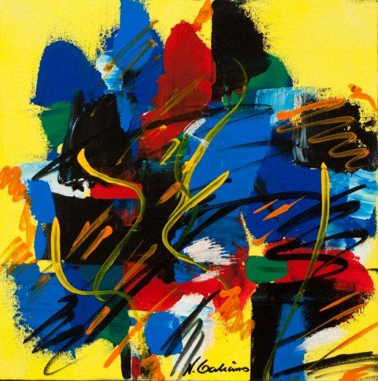 Color Mood, Acrylic on canvas by Nancy Stella Galianos