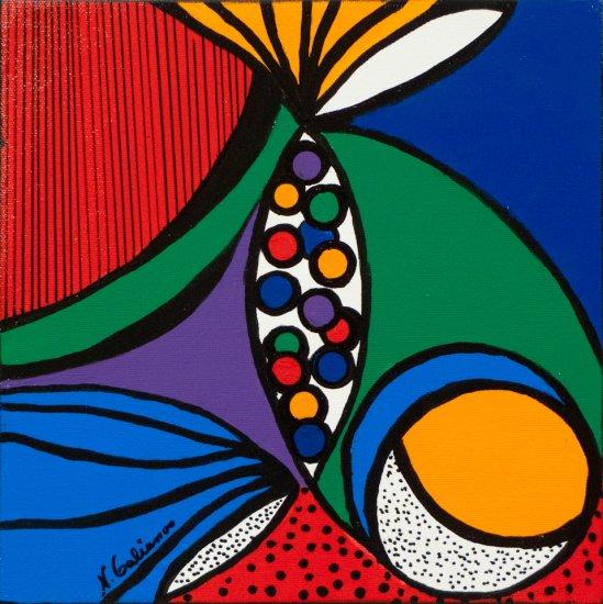 Having Fun 2, Acrylic on canvas by Nancy Stella Galianos