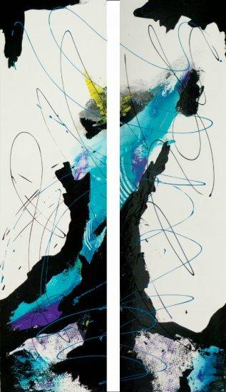 Ocean Reef, Acrylic on canvas by Nancy Stella Galianos