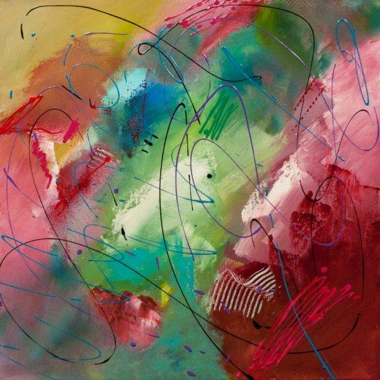 Gentle Day Dream, Acrylic on canvas by Nancy Stella Galianos
