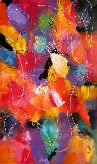 The Palette, Acrylic on canvas by Nancy Stella Galianos