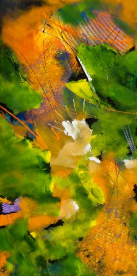 Hopes and Dreams, Acrylic on canvas by Nancy Stella Galianos