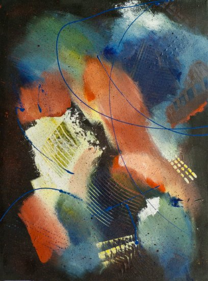 Capriccio, Acrylic on canvas by Nancy Stella Galianos