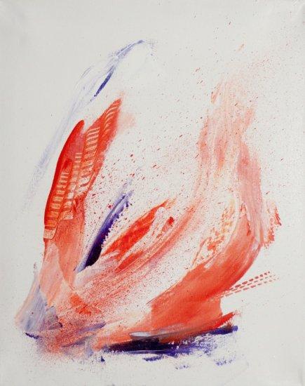 Strokes of Emotions, Acrylic on canvas by Nancy Stella Galianos