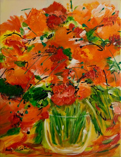 Summer Delight, Acrylic on canvas by Nancy Stella Galianos