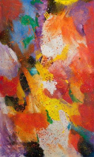 Allegria, Acrylic on canvas by Nancy Stella Galianos