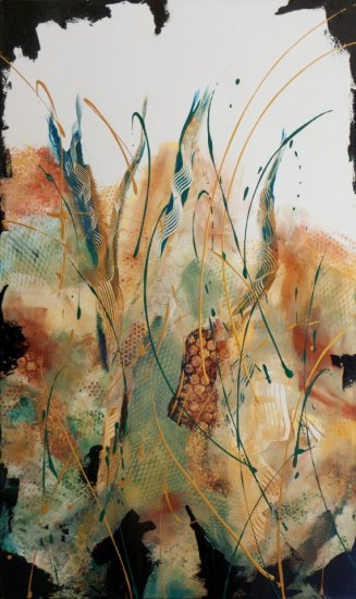 Autumn Bliss, Acrylic on canvas by Nancy Stella Galianos