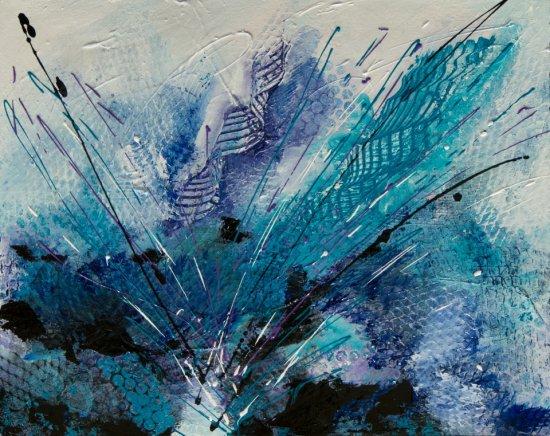 Cold Energy, Acrylic on canvas by Nancy Stella Galianos