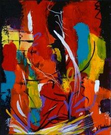 Elation, Acrylic on canvas by Nancy Stella Galianos