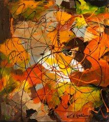 Autumn Glos, Acrylic on canvas by Nancy Stella Galianos
