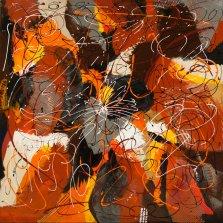 Fall Festival, Acrylic on canvas by Nancy Stella Galianos