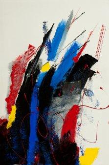 Wild Gestures, Acrylic on canvas by Nancy Stella Galianos