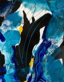 Moonlight Silhouette by Nancy Stella Galianos