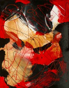 Milonga, Acrylic on canvas by Nancy Stella Galianos