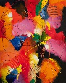 Pleasant Time, Acrylic on canvas by Nancy Stella Galianos