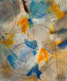 Free Movement, Acrylic on canvas by Nancy Stella Galianos