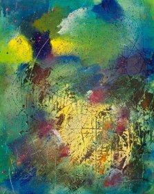 Light of Hope, Acrylic on canvas by Nancy Stella Galianos