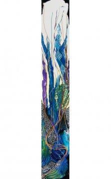 Northern Prairie Grass, Acrylic on canvas by Nancy Stella Galianos