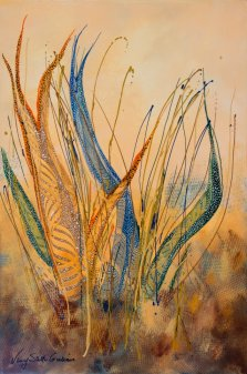 Extension Delight, Acrylic on canvas by Nancy Stella Galianos