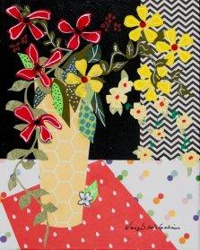 Morning Freshness, Mixed media on canvas by Nancy Stella Galianos