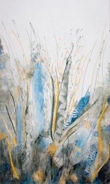 Reaching High, Acrylic on canvas by Nancy Stella Galianos