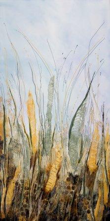 Ensemble, Acrylic on canvas by Nancy Stella Galianos